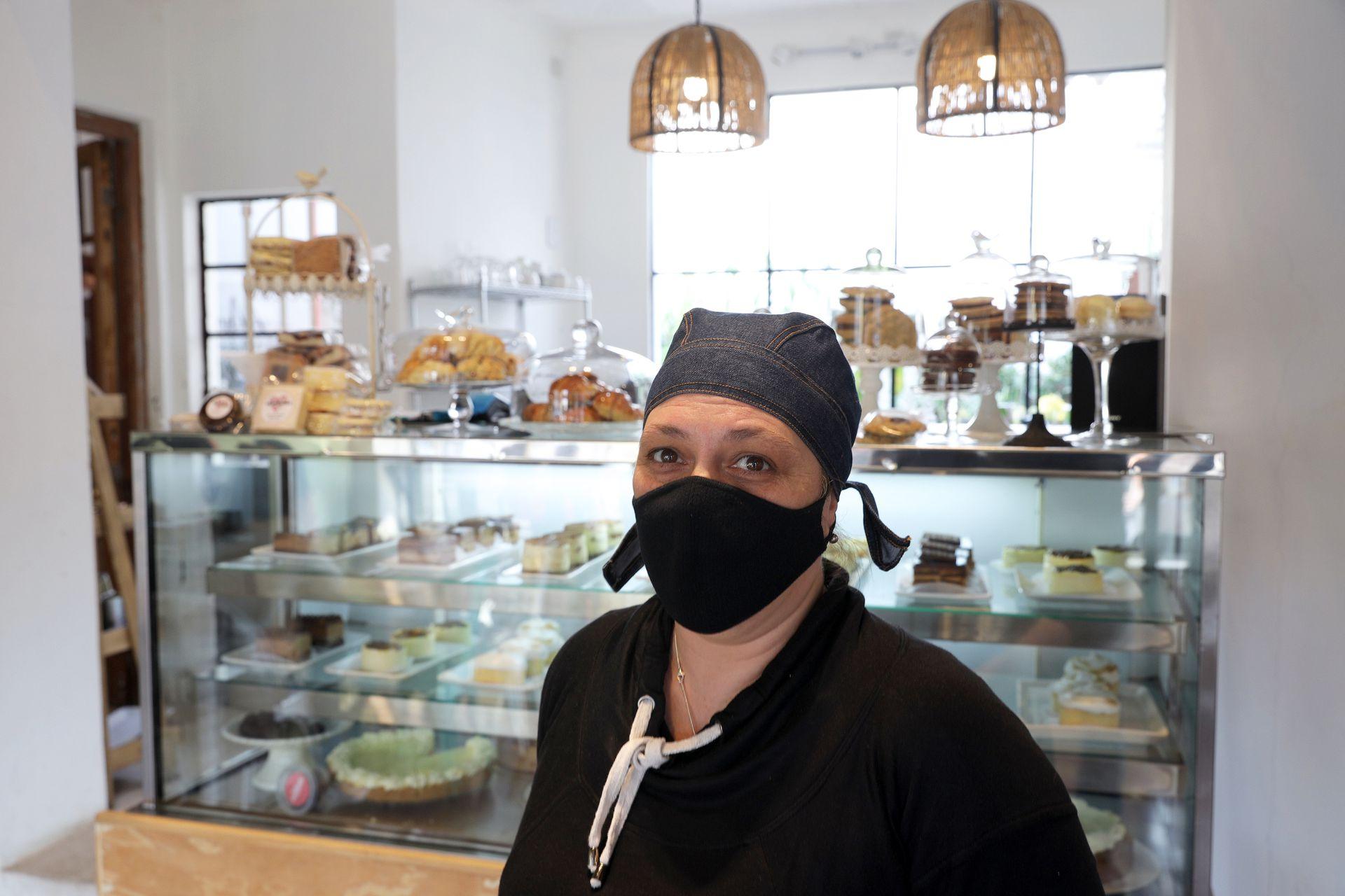 Amanda casa de té, Natalia Ferrara, quien inició el negocio, dijo verse favorecida por la modificación impositiva.