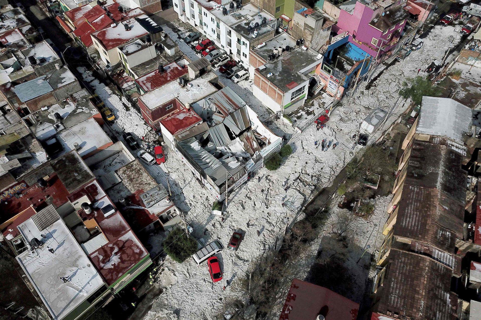 Muchos de los habitantes de la ciudad al ver semejante fenómeno se dieron cuenta que el cambio climático es una realidad