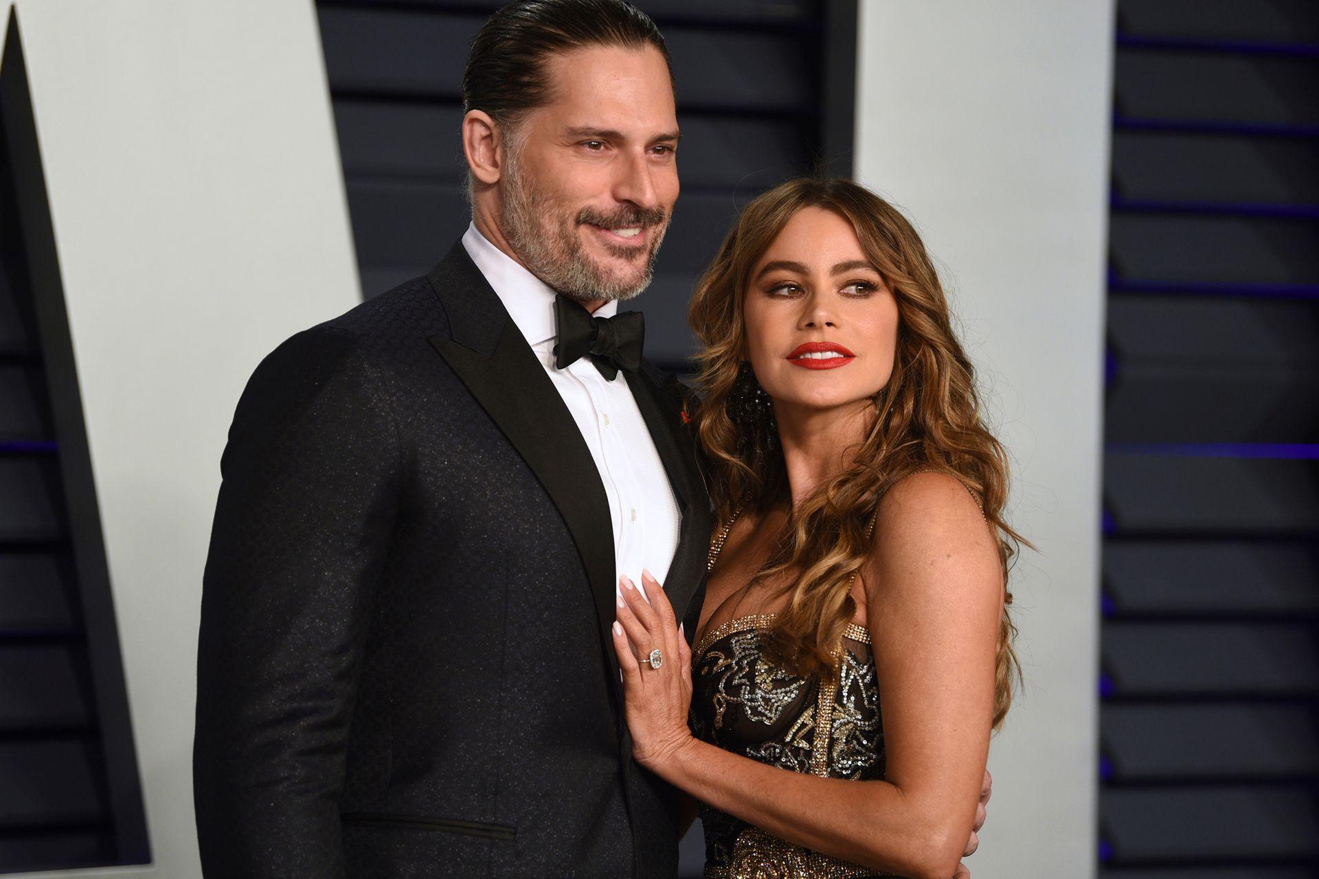 Joe Manganiello y Sofia Vergara se vistieron de gala para la fiesta de Vanity Fair