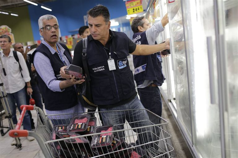 Ayer, en San Pablo, los inspectores federales incautaron mercadería en varios comercios