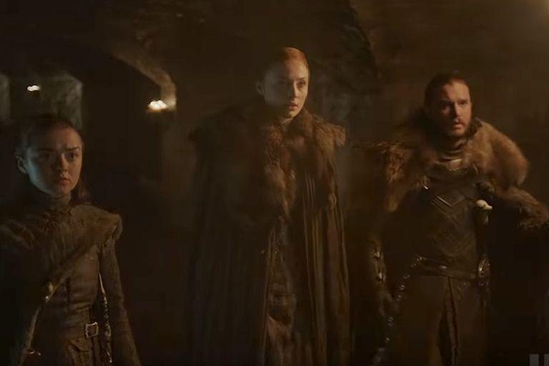 Una imagen del adelanto de la última temporada de Game of Thrones