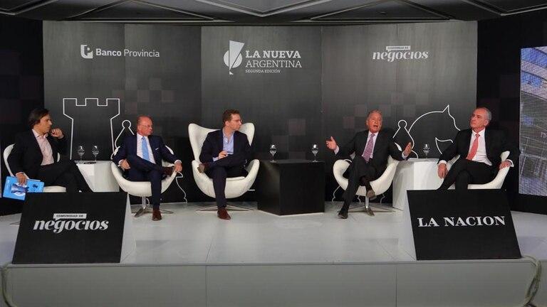 Rosario Altgelt, Antonio Aracre, José Del Río, Matías Videla, Juan Curutchet y Hernán Vázquez
