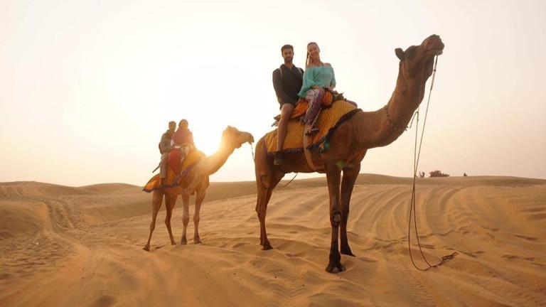 Juan Pablo Lampe tenía 29 años, vivía en Nueva Zelanda y estaba de vacaciones en Jaipur con su novia