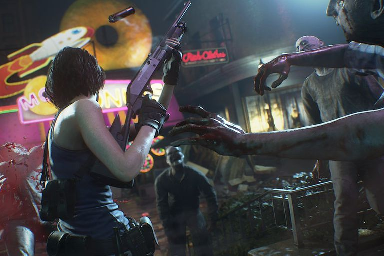 Una captura de la remake de Resident Evil 3 Nemesis