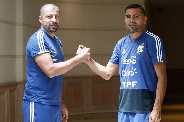 Samuel y Mercado, dos hombres de selección con el sello de campeones de la Copa