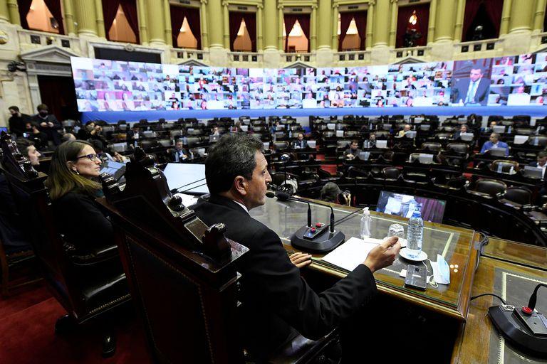 El presidente de la Cámara de Diputados no definió una fecha para sesionar después del fracaso del simulacro de reunión remota que se hizo ayer con el objetivo de volver a discutir proyectos pese a la cuarentena dispuesta por el coronavirus