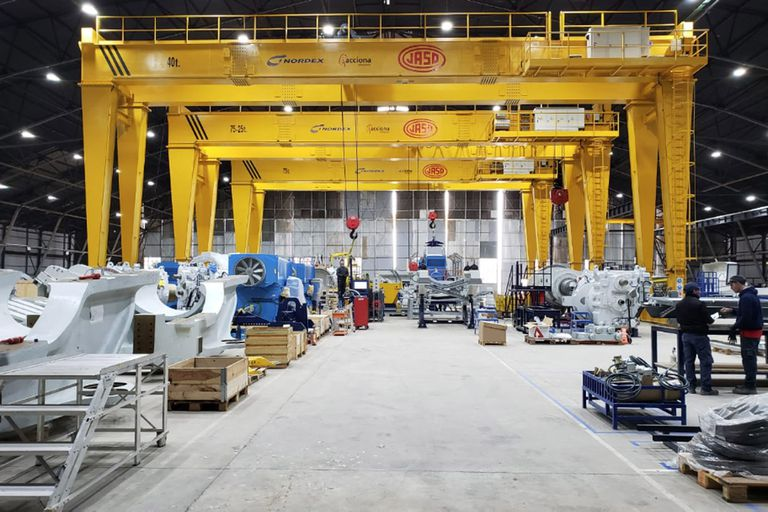 La fábrica cordobesa de aviones Fadea producirá aerogeneradores para generar electricidad a partir del viento