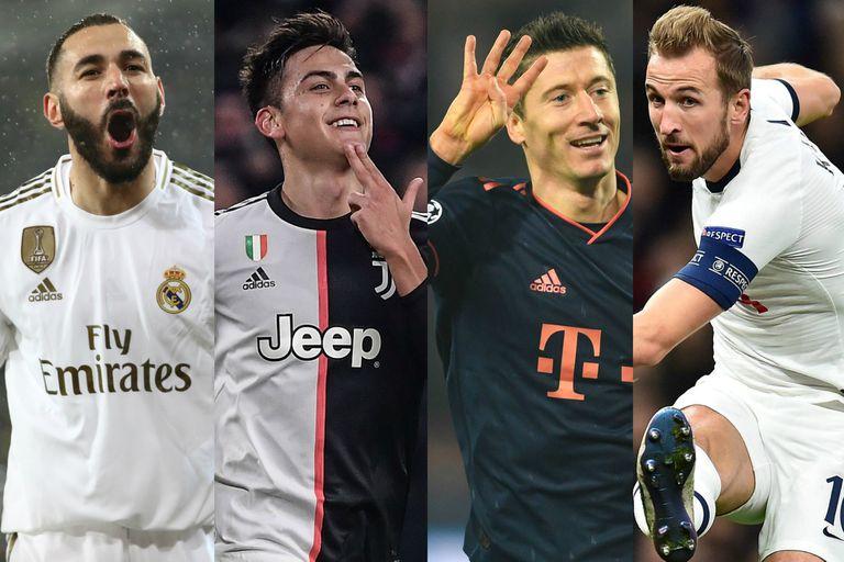 Champions League: Dybala fue uno de los goleadores que se destaparon
