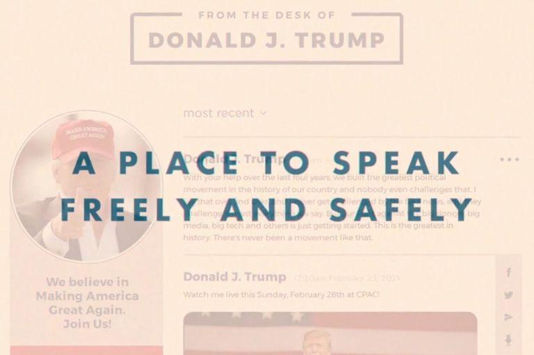 El expresidente de EE.UU. indicó que se trata de un espacio en que las personas podrán hablar con libertad y seguridad