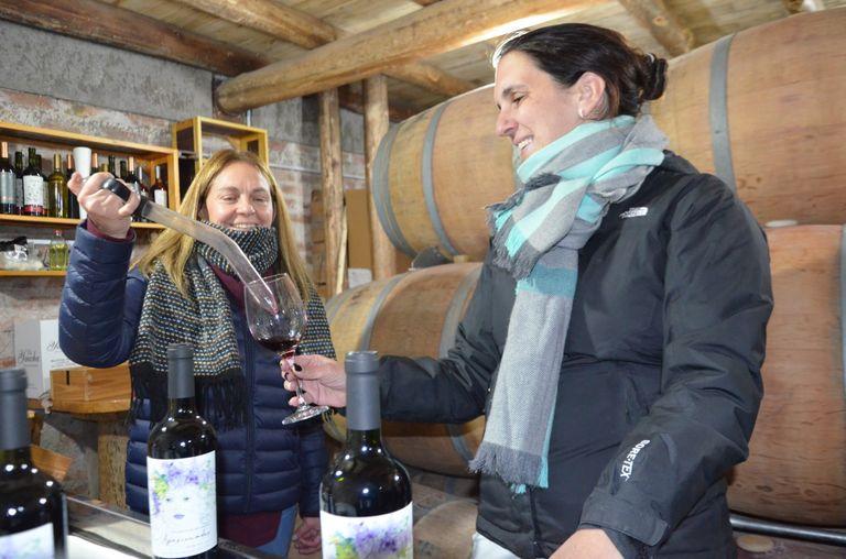 Actualmente, el grupo cuenta con 500 botellas de vino distribuidas en 250 botellas variedad de Malbec y 250 botellas de Merlot, ambas de la cosecha 2020, que se destinarán a la venta. Gza Geraldine De Marchi