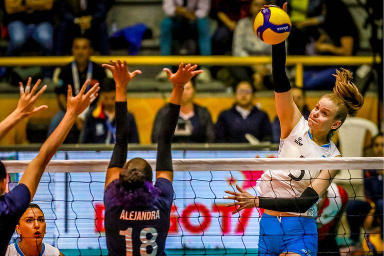 Voleibol: las Panteras ganaron y buscarán ante Colombia el pasaje a Tokio 2020