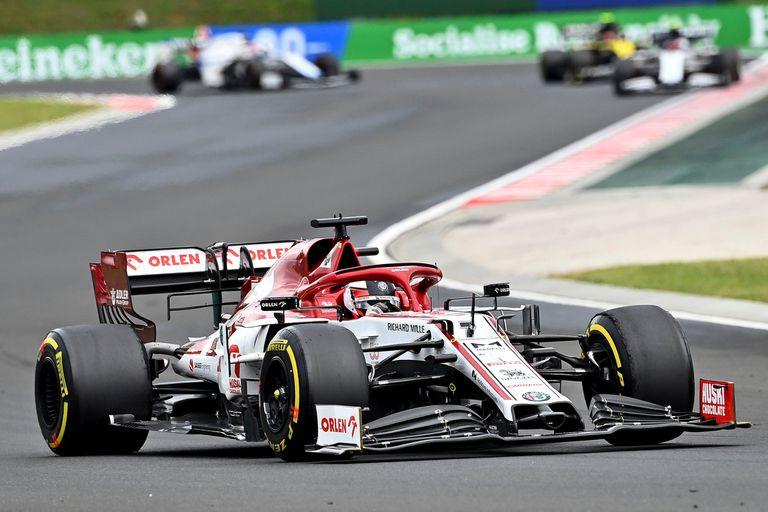Kimi Raikkonen, el único piloto de los 20 que conforman la actual grilla de la Fórmula 1 que corrió en el circuito de Imola; el finlandés, de 41 años, lo hizo en seis oportunidades, entre 2001 y 2066
