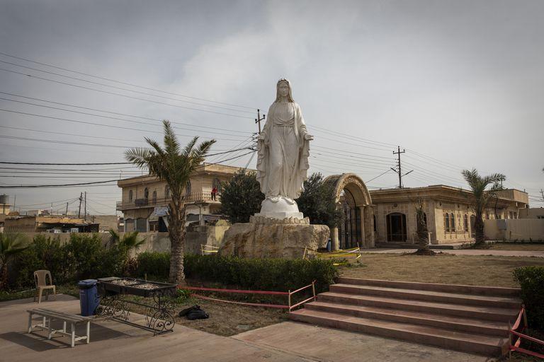 Una disputa por la identidad en el corazón cristiano de Irak