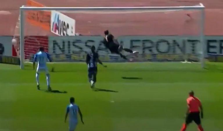 ¡Cartagena! El calco-golazo del peruano en el 1-1 de Godoy Cruz ante Talleres