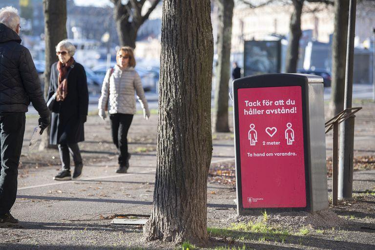 Segunda ola. Crece el descontento en Suecia a medida que suben los contagios