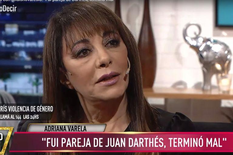 La cantante de tango contó que cuando era joven tuvo una relación con el actor acusado de violación por parte de Thelma Fardin