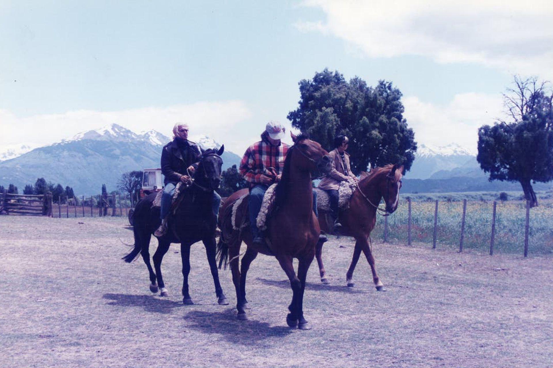 Los caballos de Caballos salvajes