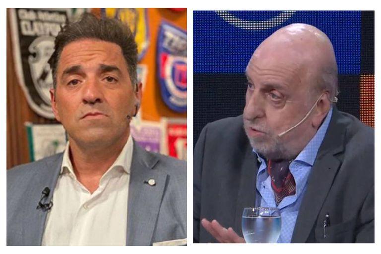 """La chicana de Horacio Pagani a Mariano Iúdica: """"No sabe nada de fútbol"""""""