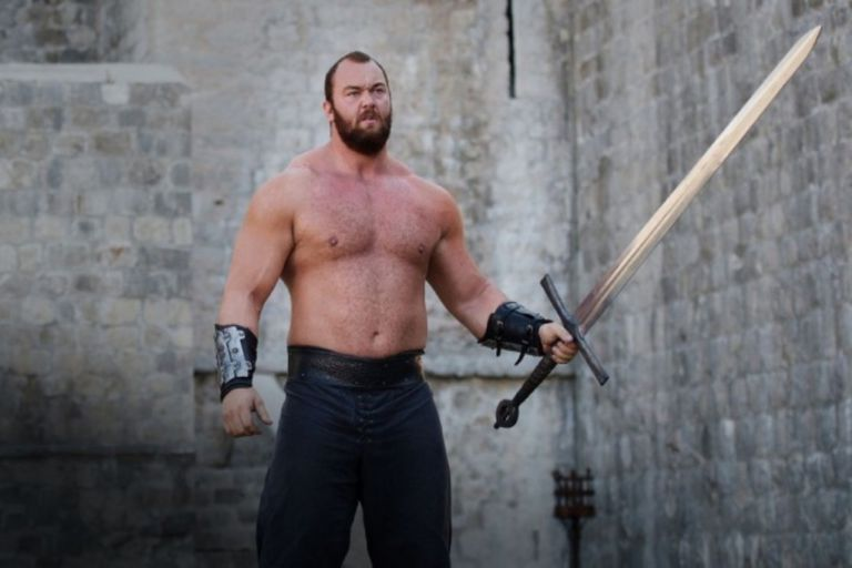 """Irreconocible: el impactante cambio físico de """"La Montaña"""" de Game of Thrones"""