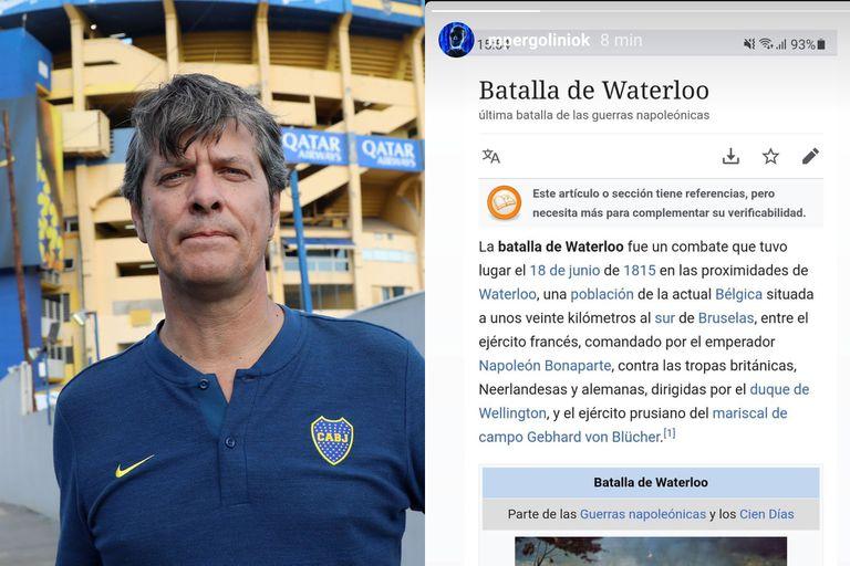 Mario Pergolini subió en su cuenta de Instagram un mensaje subliminal contra el entrenador de River, Marcelo Gallardo.