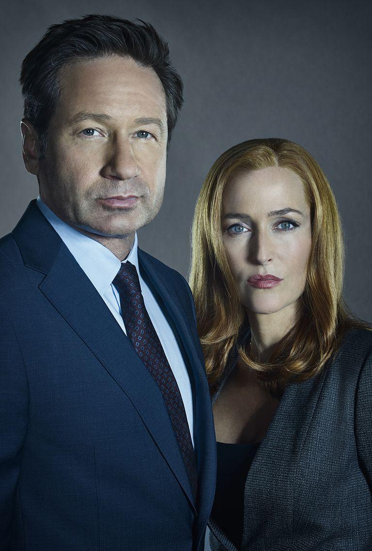 Mulder y Scully, los míticos protagonistas de Los expedientes secretos X
