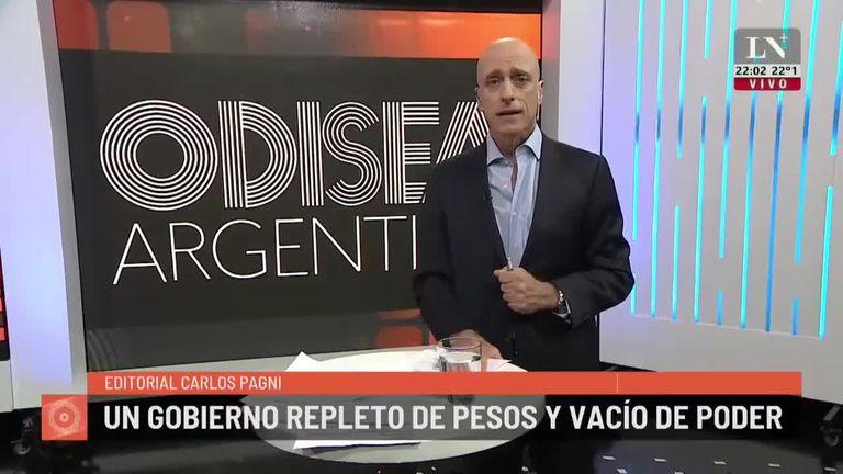 Alberto Fernández, un presidente lleno de pesos y vacío de poder