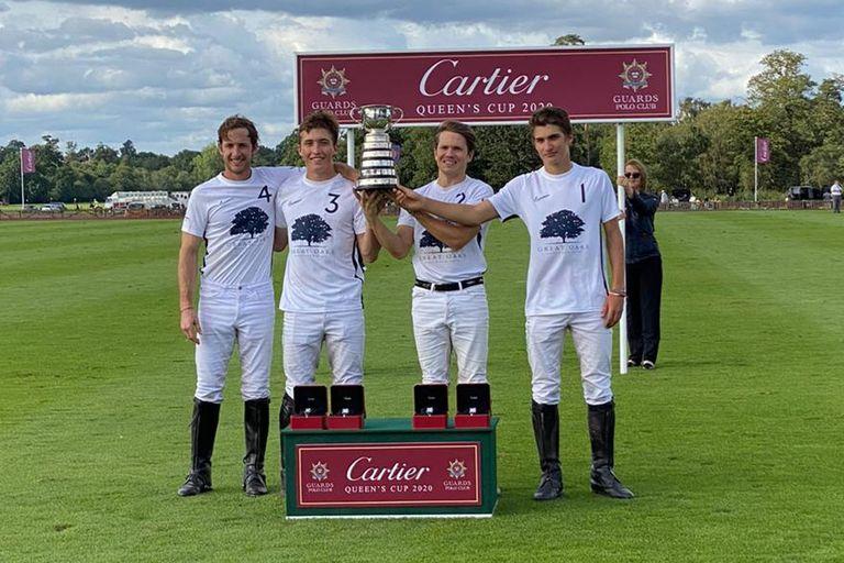 Polo. Brillan los Castagnola: ganaron la Queen's Cup en el Castillo de Windsor