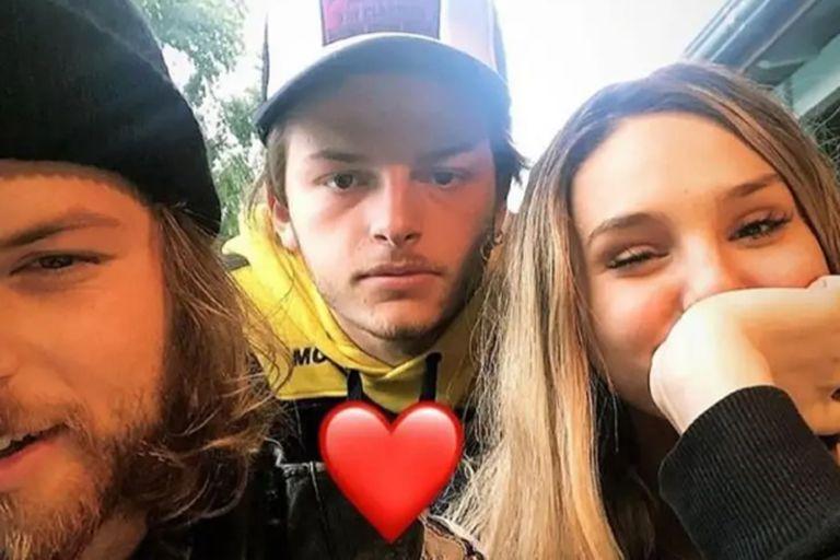 Juana Tinelli junto a su cuñado y su nuevo novio cuando comenzaron los rumores de romance