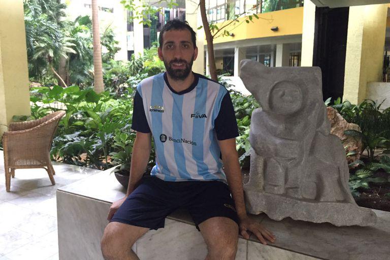 Demián González es el más experimentado de la gira con 32 años