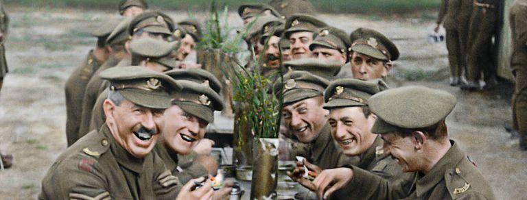 Llega el impactante documental de Peter Jackson sobre la Primera Guerra Mundial