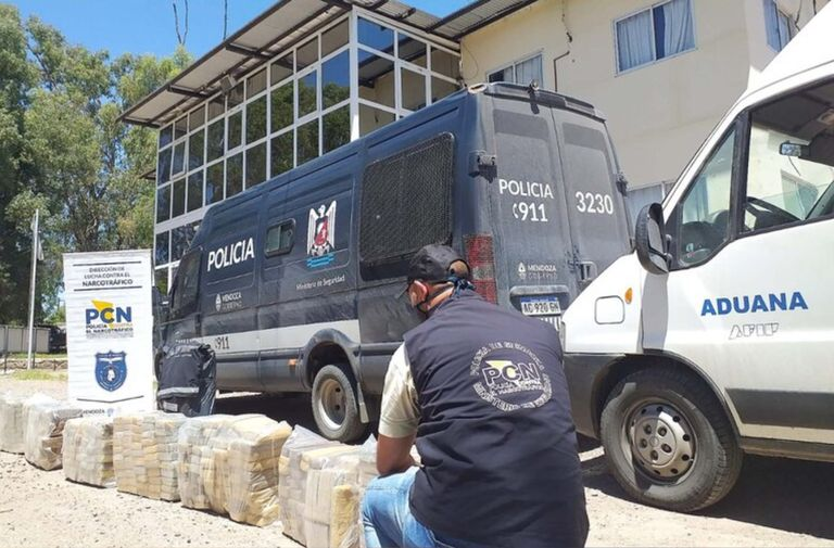 Narcotráfico: se cuadruplicó el secuestro de drogas en Mendoza en la pandemia