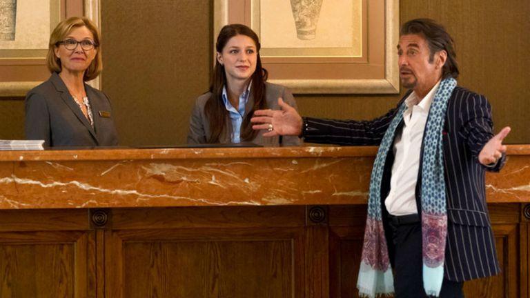Con Al Pacino y Annette Bening en Danny Collins