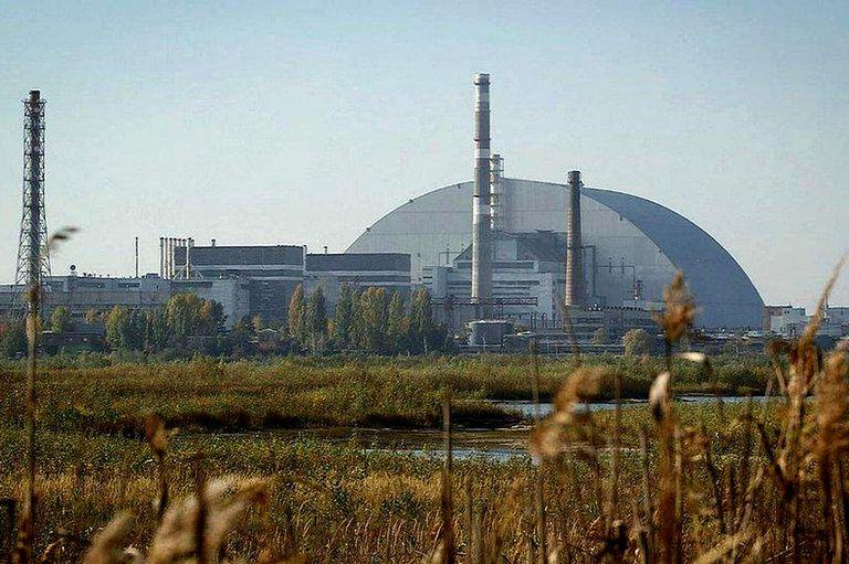 La planta de Chernobyl, hoy