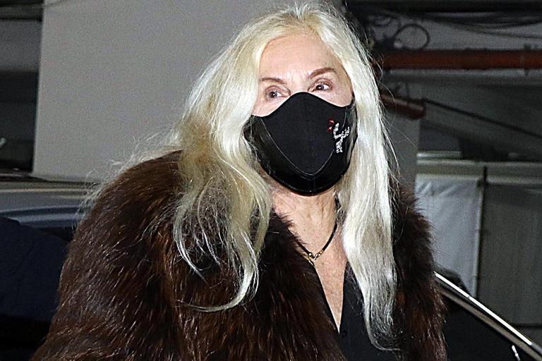 Susana Giménez ingresando al sanatorio porteño donde se intervino luego de una caída en Punta del Este