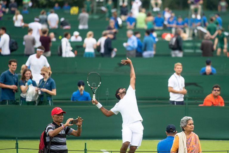 Wimbledon. Seis argentinos perdieron en la primera rueda de la clasificación