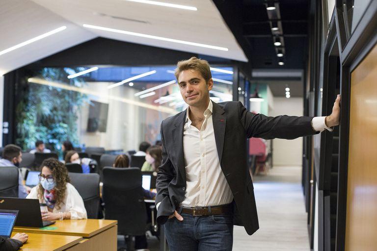 En las oficinas de Ualá, empresa que pasó a ser unicornio el mes último