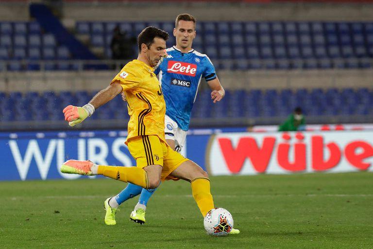 Su último desempeño como titular: frente a Napoli, el 17 de junio, en la final de Copa Italia que Juventus perdió por penales tras un 0-0.