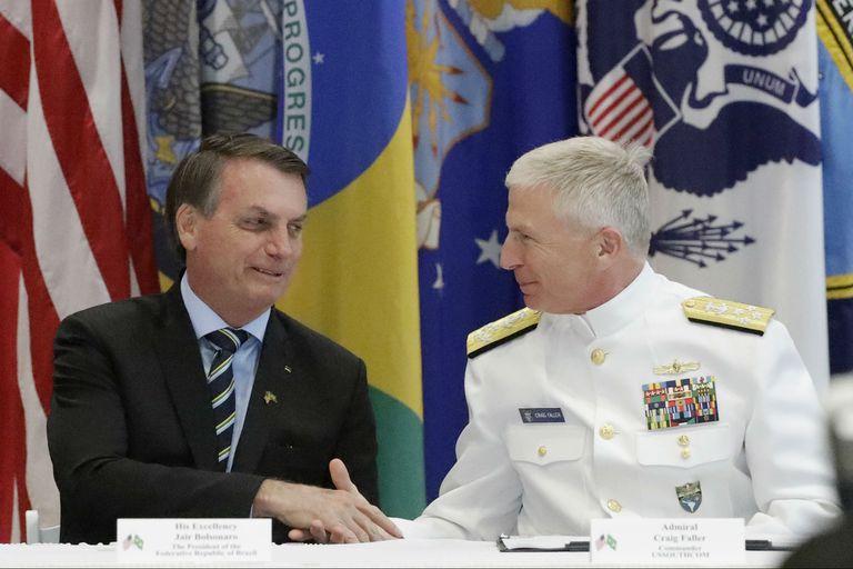 El presidente de Brasil, Jair Bolsonaro, firmó un acuerdo bilateral con Estados Unidos de cooperación militar que permitirá una mayor colaboración entre los países en ciencia y tecnología para fines de defensa.