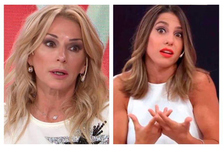 Cinthia Fernández y Yanina Latorre se atacaron mutuamente en pleno programa de Los ángeles de la mañana