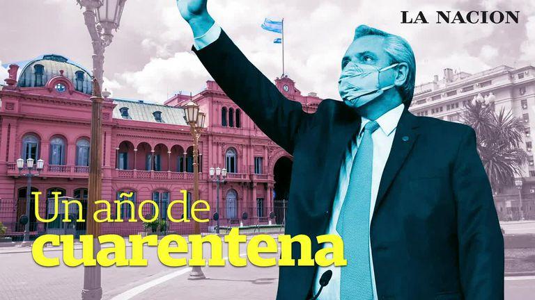 +Data: los números de la Argentina a un año de declarada la cuarentena