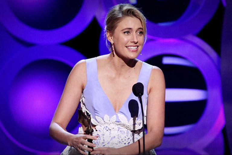 Greta Gerwig ganó en la categoría de mejor guion por Lady Bird