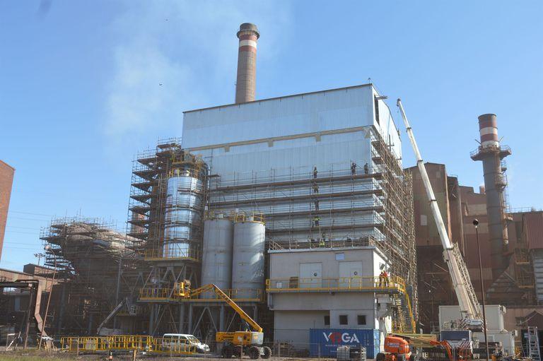 16-03-2021 Factoria de ArcelorMittal en Gijón. POLITICA ESPAÑA EUROPA ASTURIAS ECONOMIA ARCELORMITTAL