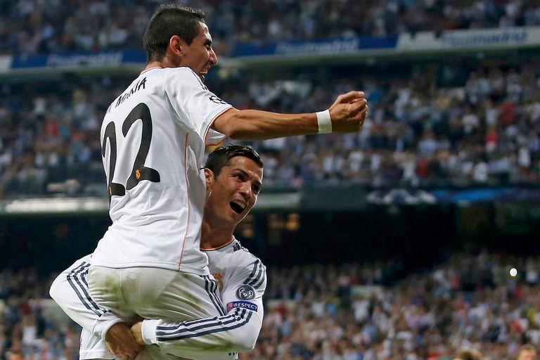 En brazos de Cristiano Ronaldo, en una etapa llena de gloria en Real Madrid