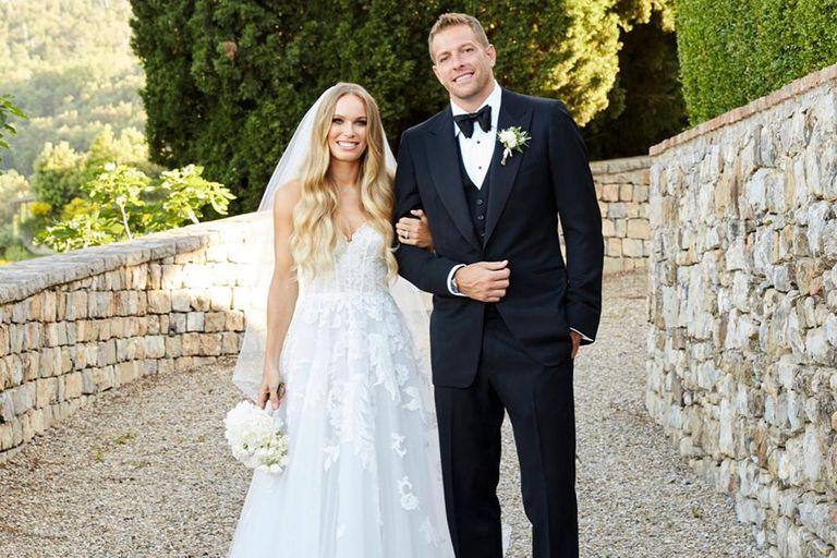 La boda de la ex número uno del tenis, con Serena Williams como dama de honor