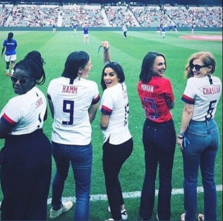 Natalie Portman invierte en un equipo de fútbol femenino