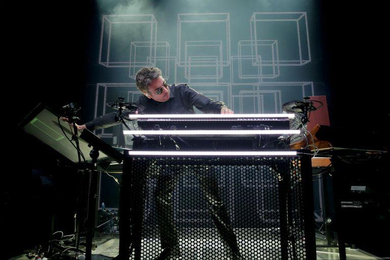 Jean-Michel Jarre en directo: todo un performer