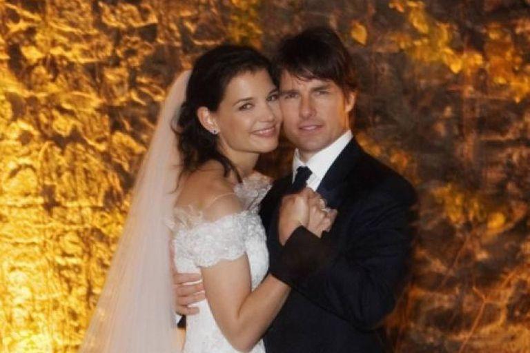 Aunque no duraron, Tom y Katie tuvieron una boda de ensueño