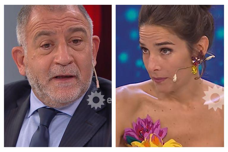 """Luis Juez tuvo un momento de duda y Juana Viale le puso los puntos: """"No sé si volvés acá"""""""