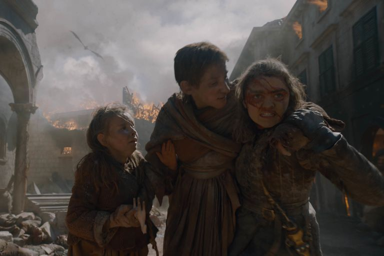 'Game of Thrones': Arya salva al anteúltimo episodio de la serie