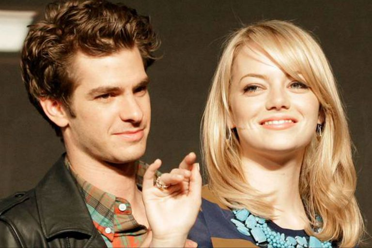 Emma Stone y Andrew Garfield se conocieron filmando El sorprendente Hombre Araña